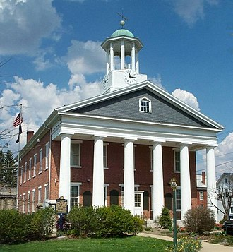 Fulton County, Pennsylvania - Image: Courthouse 600px