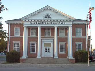 Polk County, Georgia - Image: Courthouse of Polk County, Georgia
