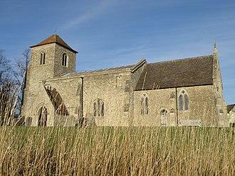 Covington, Cambridgeshire - Image: Covington Church