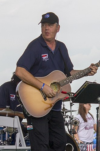 Craig Bartlett - Craig Bartlett performing with the Ready, Jet Go band at a solar eclipse viewing event at the Homestead National Monument in Beatrice, Neb.