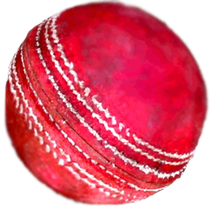 Cricket ball, used for wikiproject cricket. De...