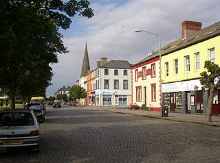 Silloth port town in Cumbria, England
