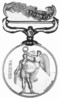 Crimea War Medal, Revers