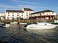 Crusoe Hotel and harbour, Lower Largo - geograph.org.uk - 198549.jpg