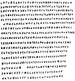 Olivier Levasseur - The Cryptogram of Olivier Levasseur