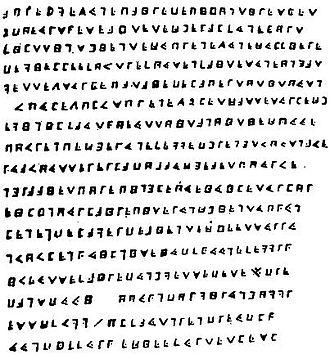 Olivier Levasseur - The Cryptogram of Olivier Levasseur