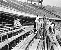 Csoportkép a Népstadionban, 1959 Fortepan 28304.jpg