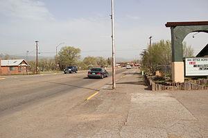 Cuba, New Mexico - U.S. Route 550 in Cuba