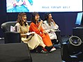 Cuisine Dimension voice actresses sitting on the sofa 20190414a.jpg