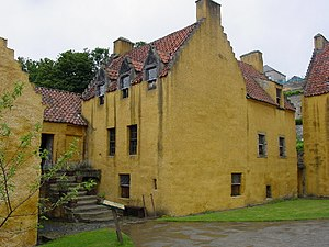Culross - Culross Palace with its crow-step gable design