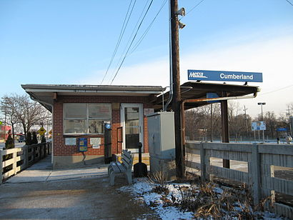 How to get to Cumberland Metra Station with public transit - About the place
