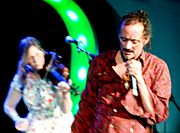 Current 93 at All Tomorrow's Parties 17 May 2007, cropped and colour fixed
