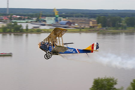 A modern-day replica of the Curtiss Jenny