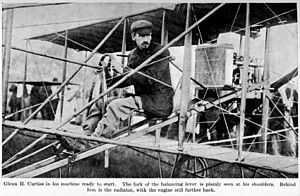 Curtiss No. 2 - Reims Air Show August 1909