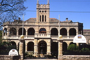 Marsfield, New South Wales - Curzon Hall on Agincourt Road, built in 1898