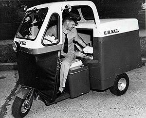 Cushman (company) - Cushman Mailster, 1955