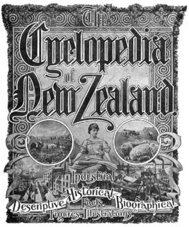 <i>The Cyclopedia of New Zealand</i> encyclopaedia published in New Zealand