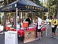 Cycle Oregon Aid Station at Wallowa Lake, Wallowa Whitman National Forest (26800789725).jpg