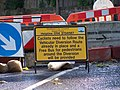 Cyclists Beware ... Tour de Oughtibridge Ahead^ - geograph.org.uk - 1018171.jpg