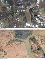 Cyclone Nargis flooding around Yangon from space.jpg