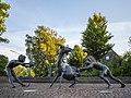 """Dülmen, Skulptur """"Die Widerspenstige"""" (Borkener Straße) -- 2012 -- 7248.jpg"""