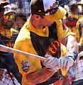 D-backs first baseman Paul Goldschmidt takes batting practice on Gatorade All-Star Workout Day. (28042717293).jpg
