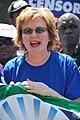 DA Leader Helen Zille protests alongside protesters (2010).jpg