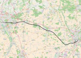 Hanover–Brunswick railway railway line