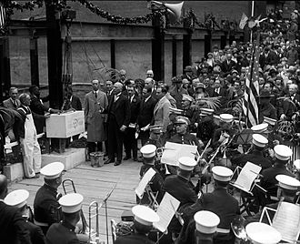 Washington, D.C. Jewish Community Center - Cornerstone ceremony, May 3, 1925.