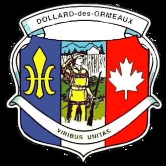 Dollard-des-Ormeaux - Image: DDO Coatof Arms