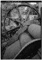 DETAIL, EXIT END OF CANE CRUSHER - Estate Annaly, Sugar Mill, North Side, St. Croix, VI HAER VI,1-NORA,1-3.tif