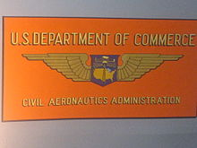 The Official emblem of the Civil Aeronautics Board