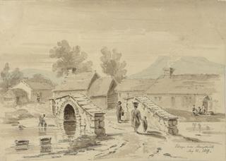 Village near Aberystwyth