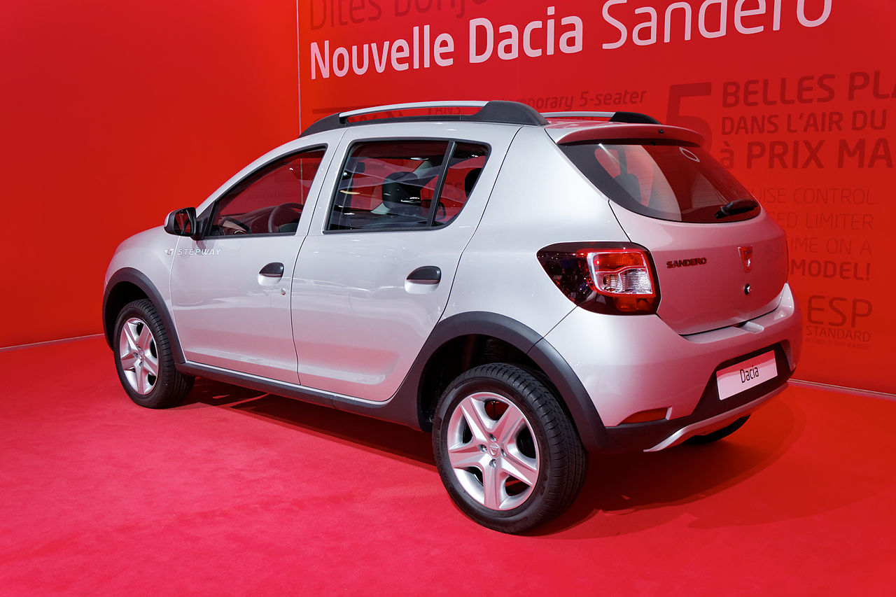 file dacia sandero stepway mondial de l 39 automobile de paris 2012 wikimedia commons. Black Bedroom Furniture Sets. Home Design Ideas