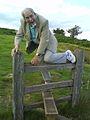 Dad on the stile aged 90.jpg
