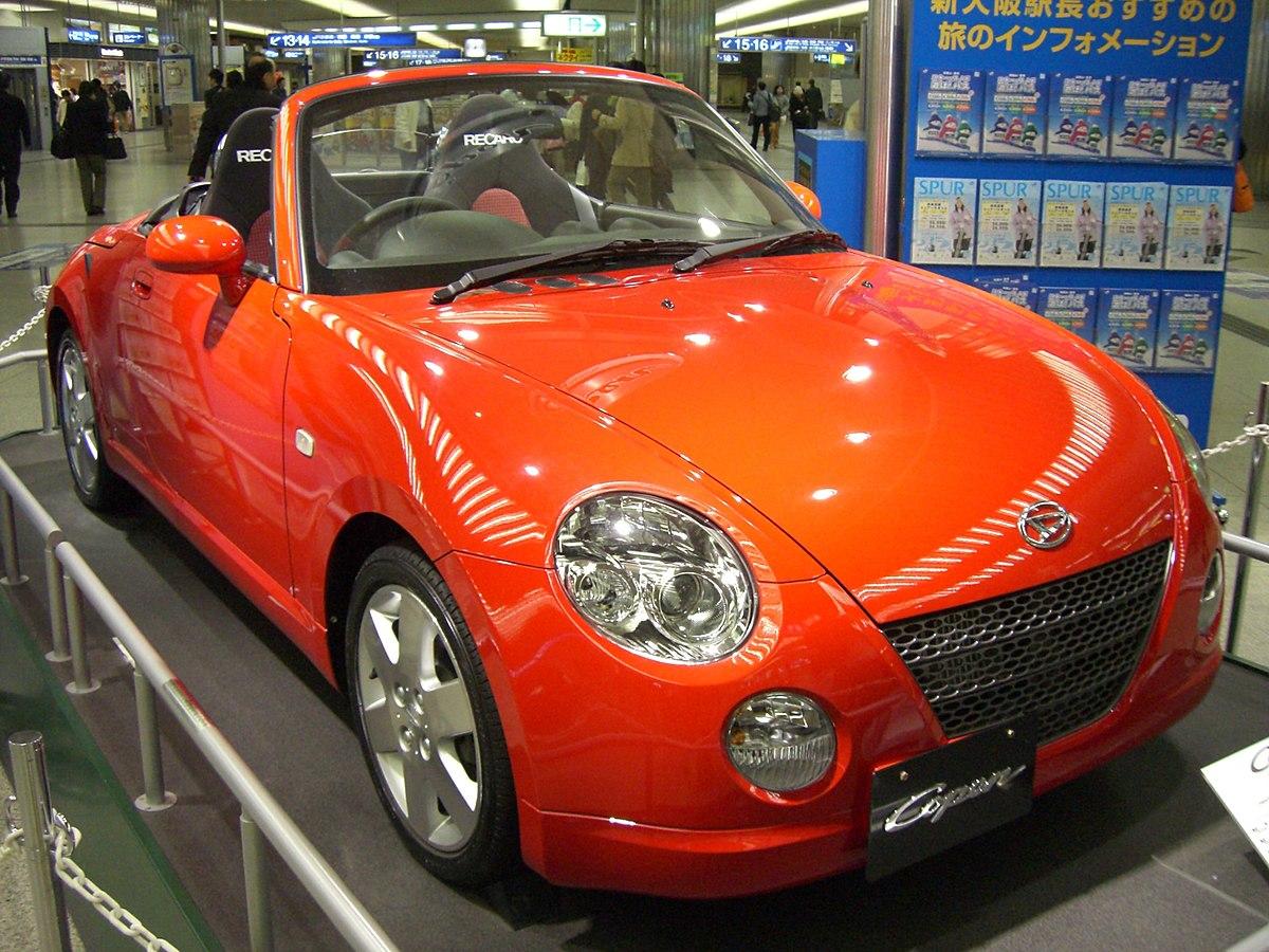 Toyota Of Orange >> Daihatsu Copen - Wikipedia