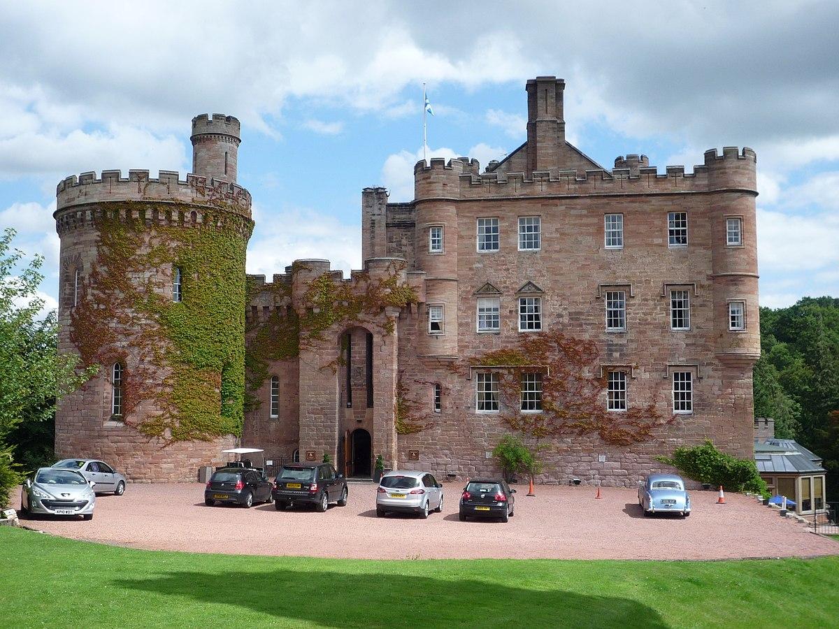 Hotels Near Dalhousie Castle