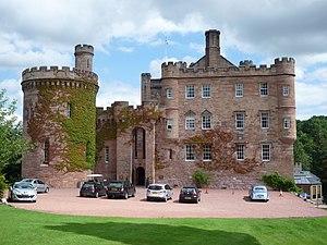 Dalhousie Castle - West front of Dalhousie Castle