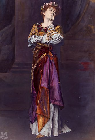 Cymbeline - Dame Ellen Terry as Imogen