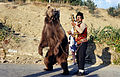 Dancing bear in Bulgaria about 1970 1.jpg