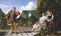 Daniel Maclise (1806-1870) - Scene from 'Twelfth Night' ('Malvolio and the Countess') - N00423 - National Gallery.jpg