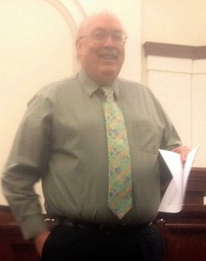 Daniel C. Peterson - Daniel Peterson teaching seminary.