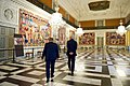 Danish Prime Minister Rasmussen Shows Secretary Kerry the Queen's Tapestries at the Christiansborg Palace in Copenhagen (27449320270).jpg