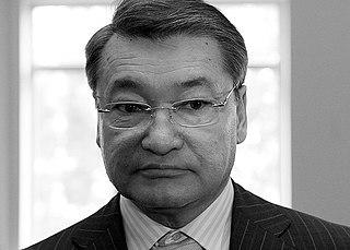 Daniyal Akhmetov Minister of Defense and General of the Army of Kazakhstan