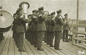 """Free City of Danzig Police - The Danzig """"Musikkorps"""" police band."""
