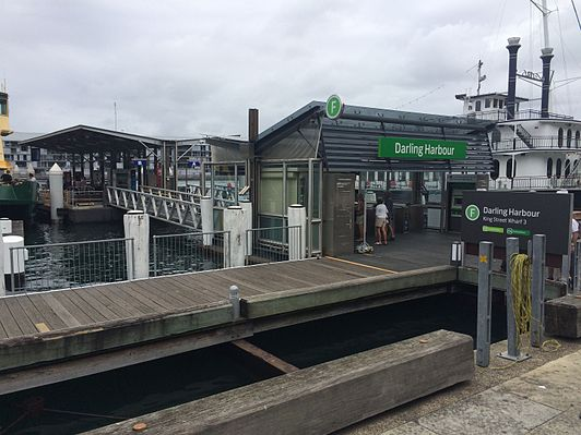 Darling Harbour ferry wharf