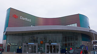 Dartford railway station railway station in Kent, England