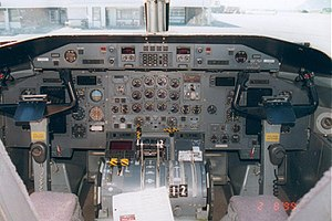 Bombardier Dash 8 - Early −300 cockpit