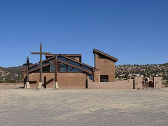 Datil, New Mexico - Image: Datil Church of the Nativity of the Blessed Virgin Mary 1