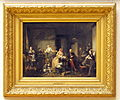 David Josep Bles (1821-1899), Armoede en weelde (de familie H. Berniks), 1848, Olieverf op paneel.JPG